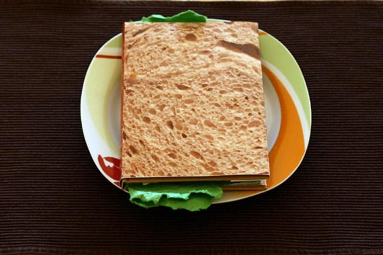 """El """"Sandwich Book"""": libro, comida y arte 1"""