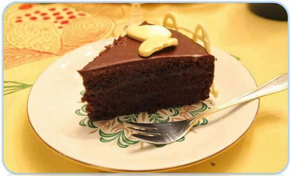 La tarta Sacher 1