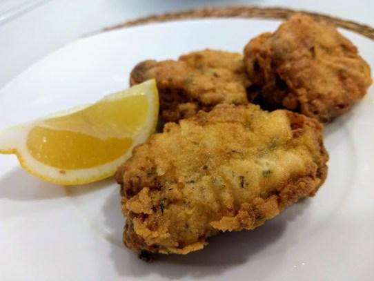 Pollo frito (MARINADO AL LIMÓN)