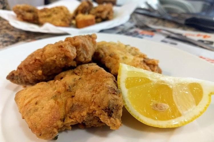 Pollo frito (marinado en limón) 1