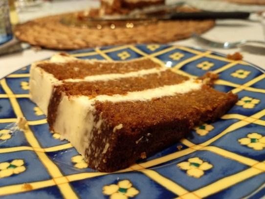 Trozo Crraot Cake
