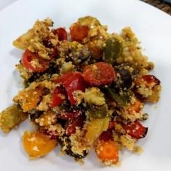 Crumble de verduras