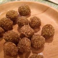 Aceitunas fritas rebozadas en kikos
