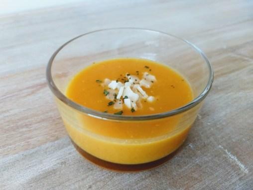 Crema de zanahorias y patatas 2