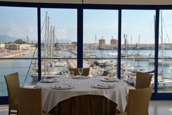 Mirador restaurante Real Club Náutico Castellón