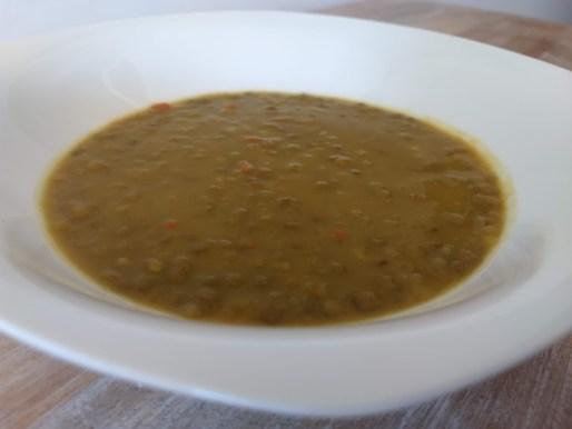 Lentejas con curry