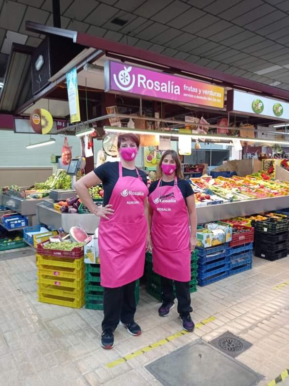 Frutas y verduras rosalía Cistella