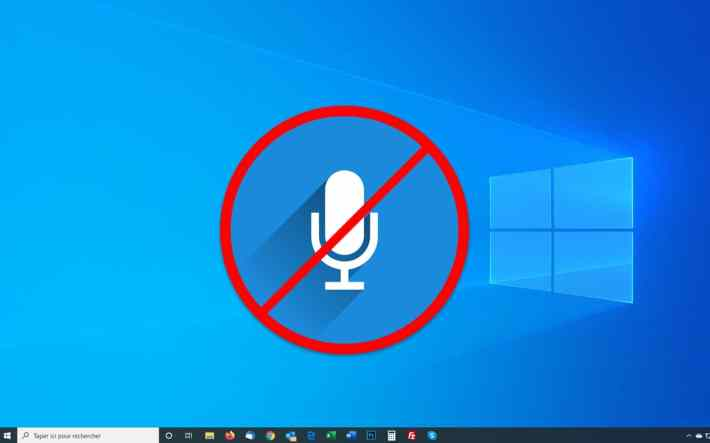 Windows 10 : comment désactiver le micro 1