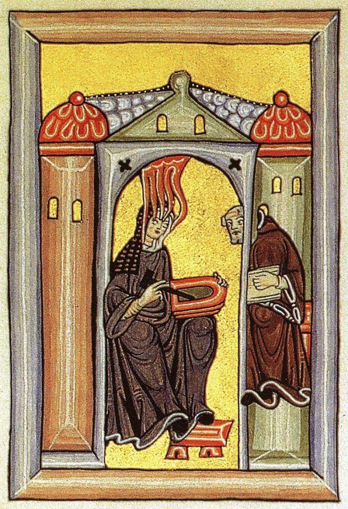 Hildegarde de Bingen, découvre les vertus du houblon au XIIème siècle