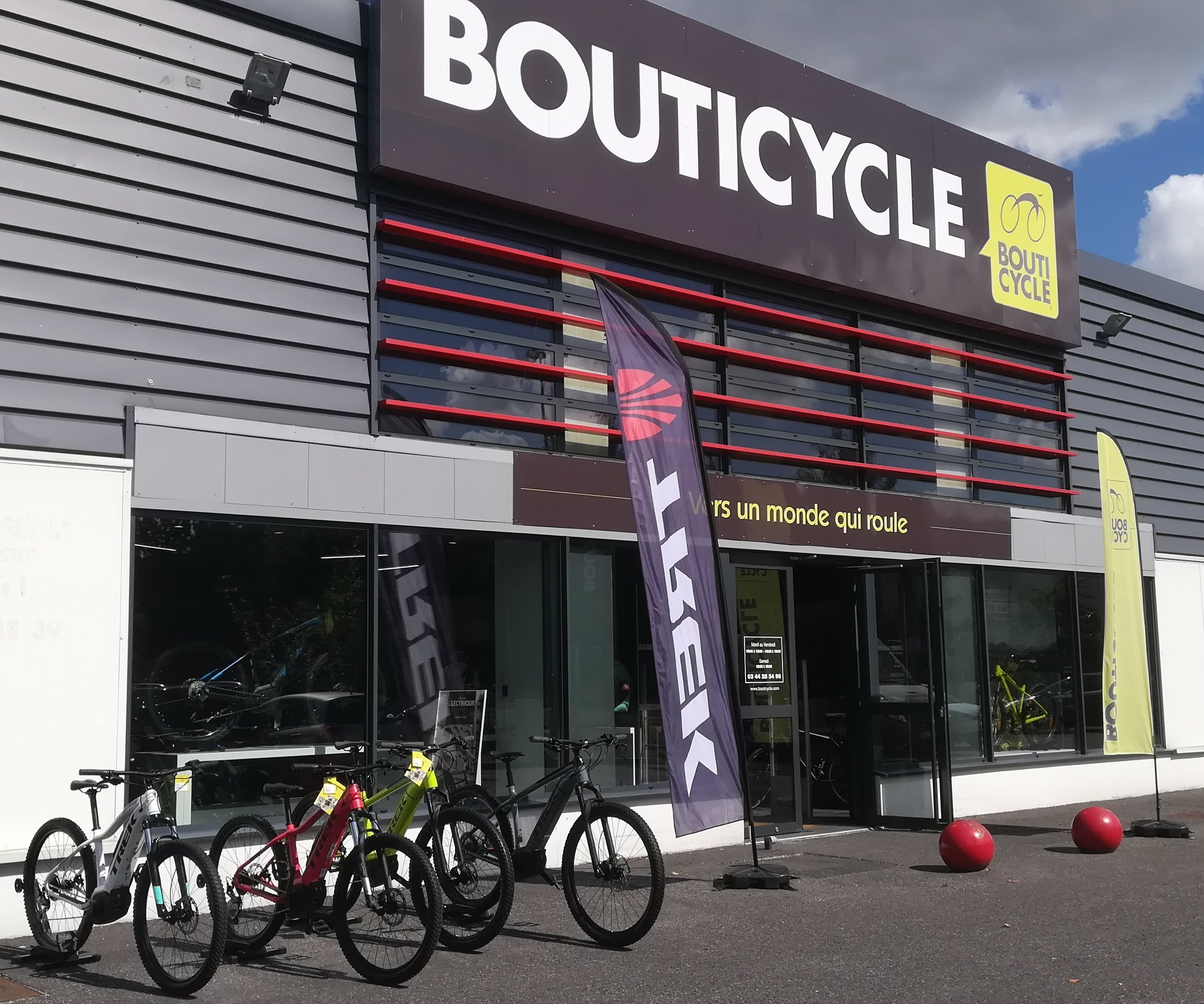 Comment contacter Bouticycle