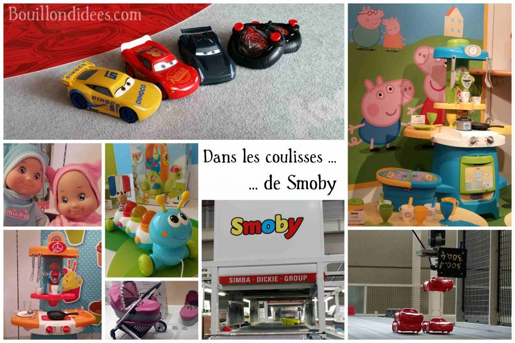Comment contacter le fabricant des jouets Smoby