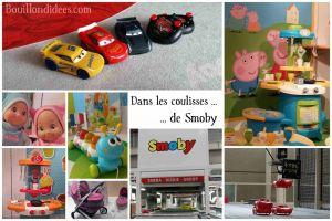 Comment contacter le fabricant des jouets Smoby