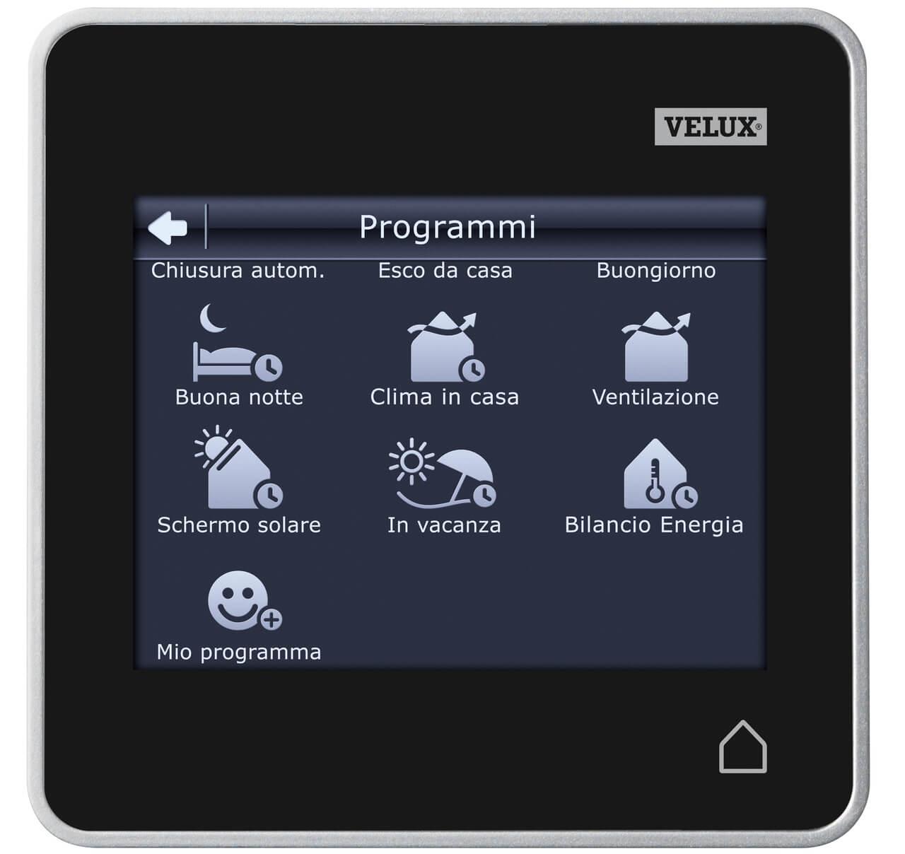 Unite De Controle Avec Ecran Tactile Velux