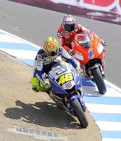 Valentino Rossi Vs Casey Stoner