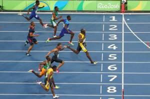 Olympics 100m final 2016