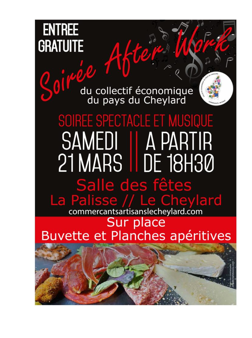 SOIREE AFTER WORK IMAGE DE CHARCUTERIE