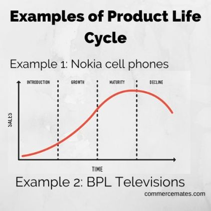 Examples of Product Life Cycle