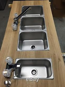 small 3 compartment sink for portable concession sinks business industrial commercial kitchen sink