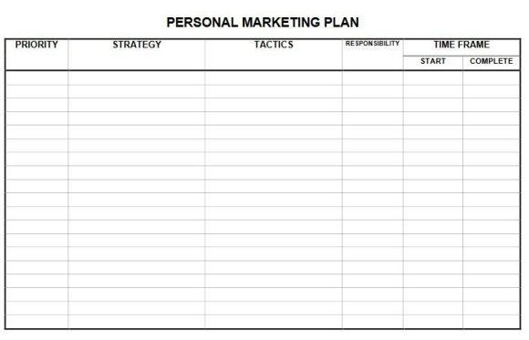 Commercial real estate marketing chart