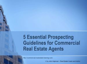 special report on prospecting guidelines for commercial real estate brokers