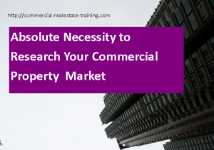special report about commercial property research