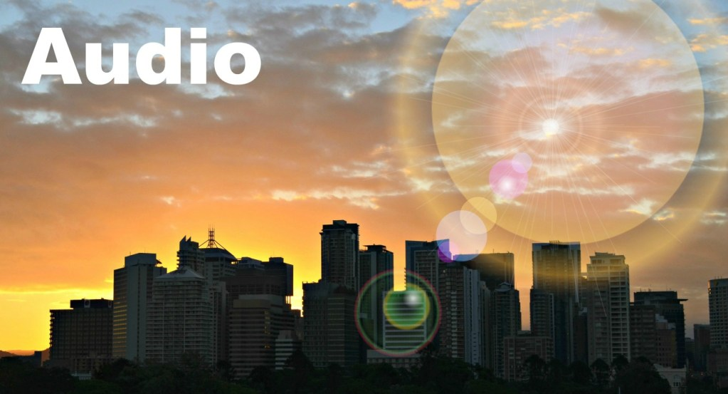 city scene commercial real estate audio
