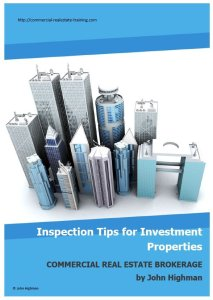 inspection tips for commercial real estate brokers.