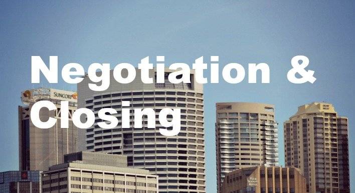 city buildings commercial real estate negotiation