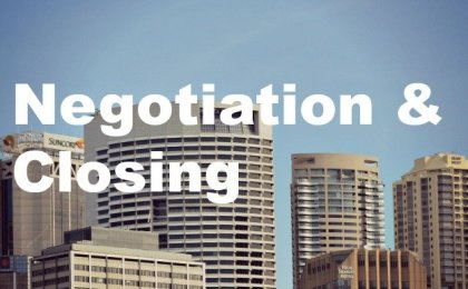 city buildings commercial real estate negotiation