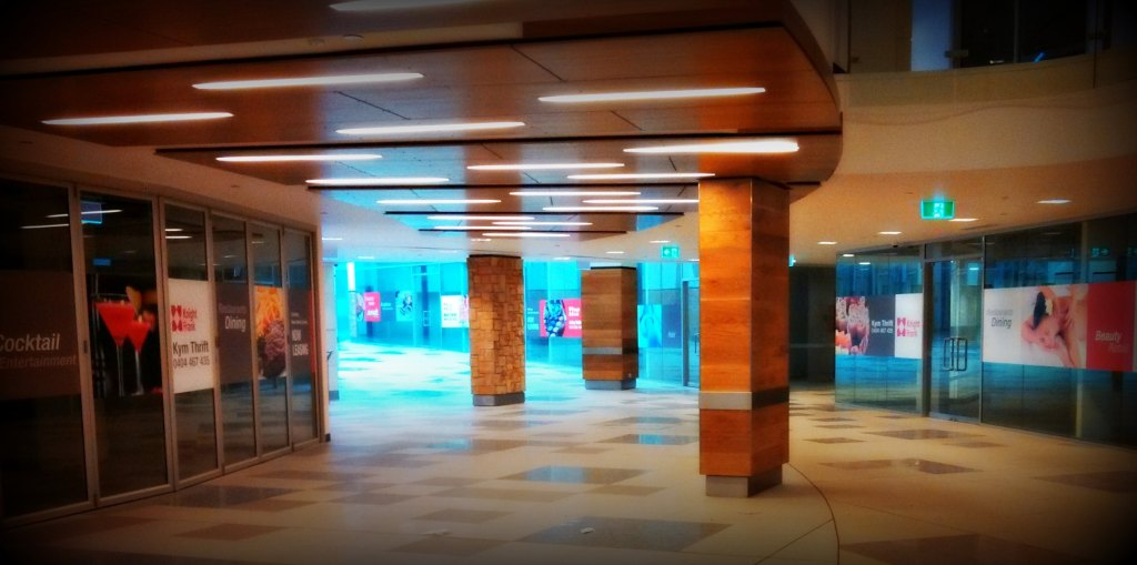 empty retail mall