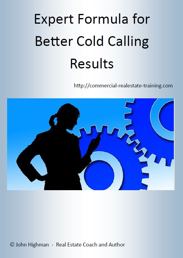expert formula for making cold calls a part of your real estate business