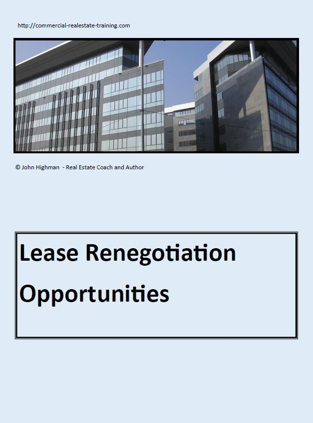 special report on commercial real estate leasing