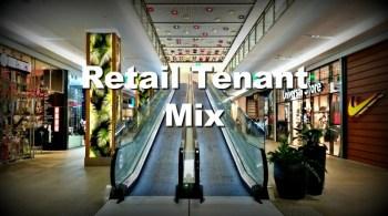 shopping center escalators