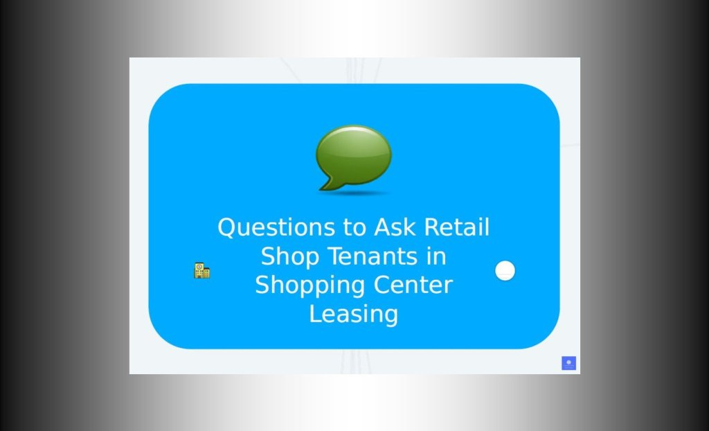 retail shopping center leasing slides by John Highman