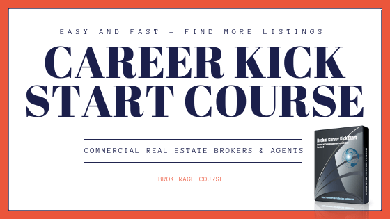 commercial agent career kick start box