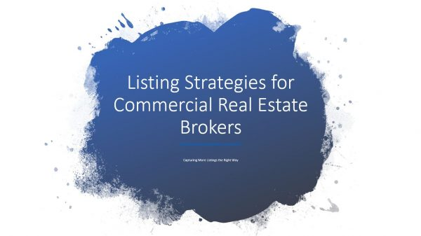 commercial real estate listing video for checklists