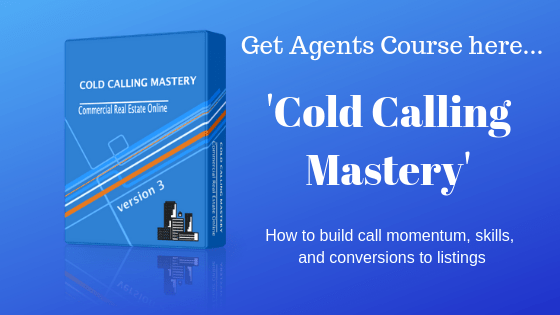 cold calling course in commercial real estate