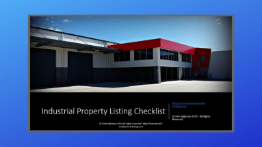 industrial property and warehouse