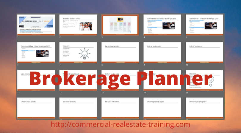 career planner for brokerage
