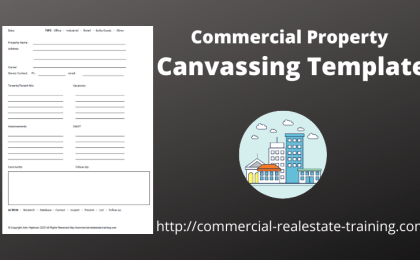 commercial property canvassing template
