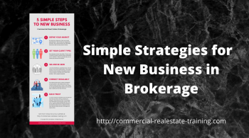 infographic for new business in commercial real estate