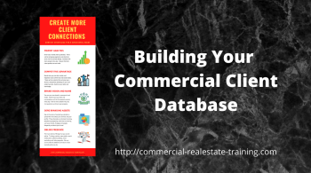 infographic for client contact in commercial real estate