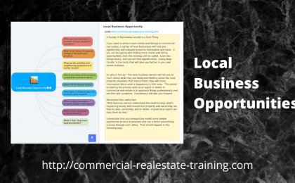 local business opportunities chart