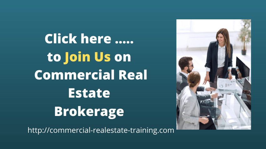 commercial real estate people talking