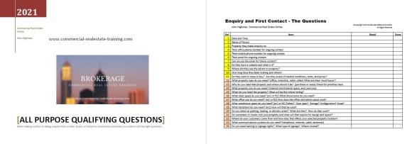 canvassing questions for commercial real estate today