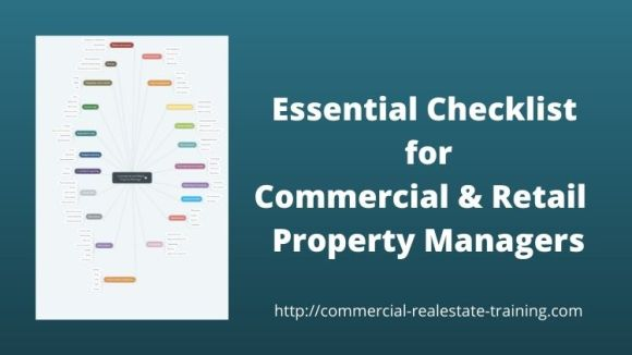 checklist for commercial and retail property managers