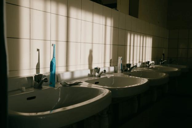 commercial property washroom