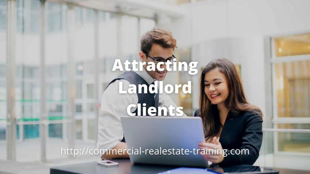 real estate agent and landlord meeting