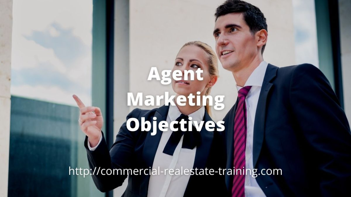 real estate agents talking