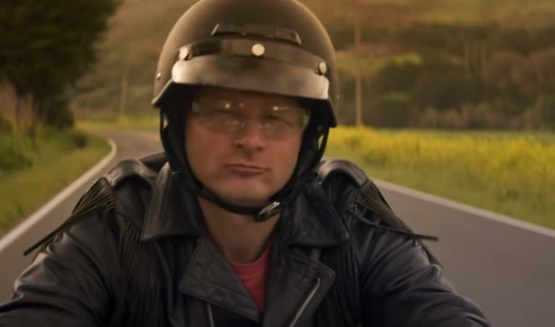 Geico Motorcycle Commercial Dad